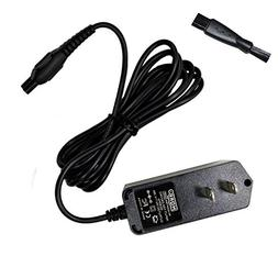 HQRP AC Adapter Power Cord Charger for Philips Norelco HQ850