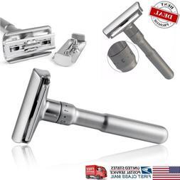 Adjustable Double Edge Shaving Safety Razor Shaver Blades Zi