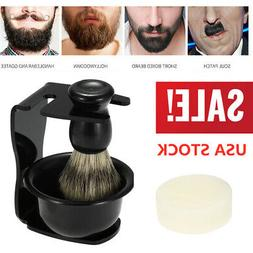 ANSELF 4 IN 1 SHAVING SHAVER HOLDER SHAVING BRUSH RAZOR STAN