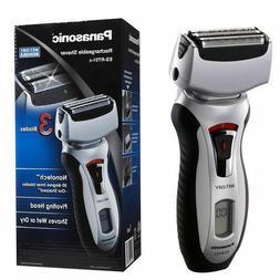 Panasonic Arc3 Nanotech Rechargeable Shaver Wet Dry Electric