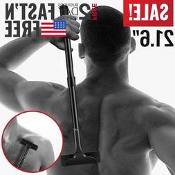 Back Shaver Mens Body Shaver Hair Razor DIY Grooming Trimmer