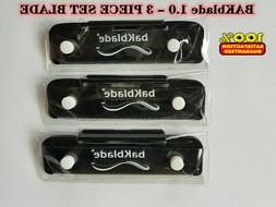 bakblade bigmouth back shaver replacement blade 1pack