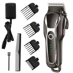 SURKER Barber Salon Electric Hair Clipper Rechargeable Trimm