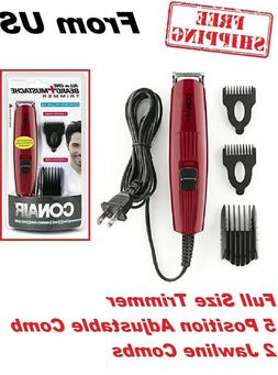 Beard & Mustache Trimmer men Shaving Hair Removal Five-posit