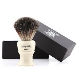 Beard & Skin Care Wet Shaver Ivory Colour Synthetic Hair Sha