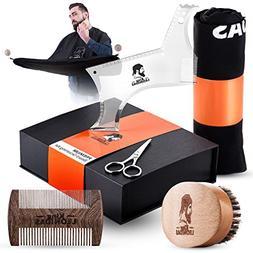 King LEONIDAS Beard Care Grooming Kit | Complete SET - Beard