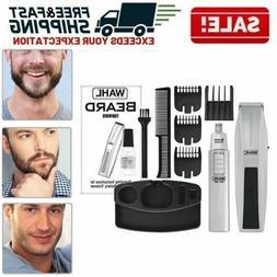 Beard Mustache Trimmer Facial Hair Groomer Mens Grooming Cli