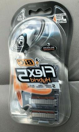 BIC Flex 5 Hybrid Men's 5 Blade, Disposable Razor, 4-Coun