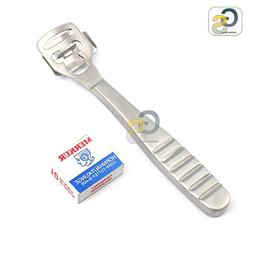 G.S - 1Set of Foot Care Callous Hard Skin Cutter Stainless S