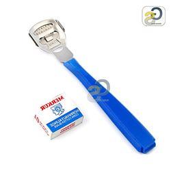 G.S - 1Set of Foot Care Callous Hard Skin Cutter Blue Cuticl