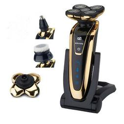 Blue Rotary 5D Rechargeable Washable Men's Cordless Electric