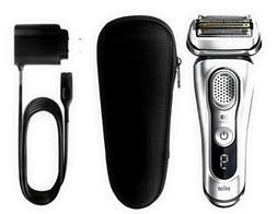 BRAND NEW Braun Series 9 9370cc Men's Electric Shaver Wet an
