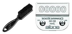 Andis Ceramic Edge Detachable Blade, Size 00000 1/125 inch /