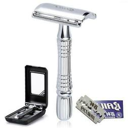 Classic Barber Double Edge Safety Razor Shaver Knife for Per