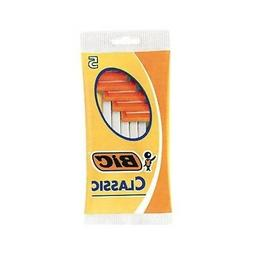 Bic Mens Classic Normal Disposable Shaver, 5 in a Pack  60 R