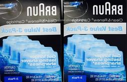Braun Clean & Renew Refills 3-pack,170mleach-Total 510ml