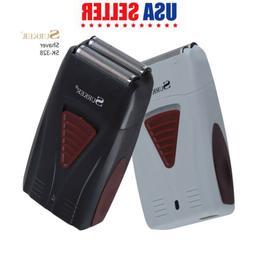 SURKER Comfort Cordless Shaver Dual Foil Recharging Electric