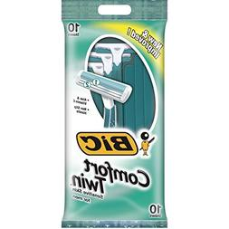 Bic Comfort Twin Sensitive Skin 10 Shavers Green package