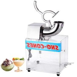 Commercial 440lbs/hr Electric Ice Shaver Machine Snow Cone M