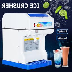 Commercial Ice Shaver Crusher Shaving Process Snow Cone Make