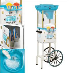 Snow Cone Machine Commercial Stand Business Shaved Ice Cart