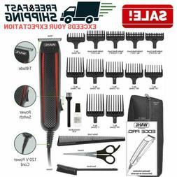 Corded Hair Trimmer Kit Professional Mens Beard Clipper Barb