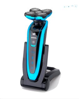 Deluxe Rotary Men's 5D Washable Cordless Electric Shaver Raz