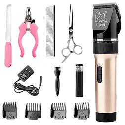 Bojafa Dog Clippers Low Noise Pet Hair Grooming Clippers kit