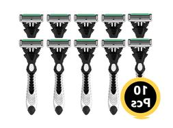 Dorco Pace 6, World's First Front 6 Blades Disposable Razors