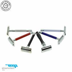Double Edge De Safety Razor Classic Shaving + FREE Blades Vi
