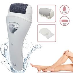 LivingPro Electric Foot File, Rechargeable & Waterproof Call