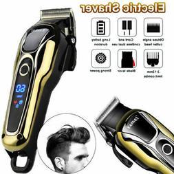 Electric Hair Cutting Trimmer Clipper Men's Shaver Barber Ha