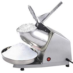 Electric Ice Crusher Shaver Machine Snow Cone Maker Shaved I