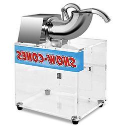 Li Bai Electric Ice Shaver Machine Crusher Snow Cone Maker S