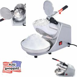 Electric Ice Shaver Summer Cool Snow Cone Maker Electric Cru