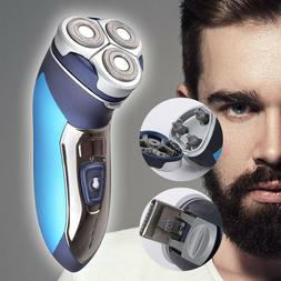 electric rechargeable 3 head men shaver trimmer