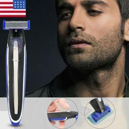 Electric Rechargeable Men's Trimmer Smart Razor Shaver Edges