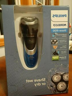 Philips Norelco - Electric Shaver 4100- A810 - Blue/Black