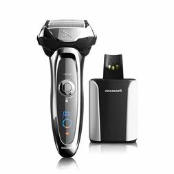 Panasonic ES-LV95-S Arc5 Wet/Dry Shaver W/ Cleaning and Char