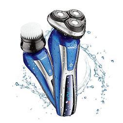 Hatteker Electric Shaver For Men Rotary Shaver Wet Dry 2 In