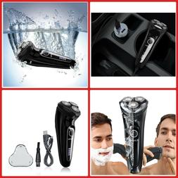 Electric SHAVER For Men Waterproof 3DFLEX Wet Dry Rotary Raz