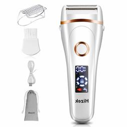 Electric Shaver For Women Lady Wet Dry 3Blade Cordless Trimm