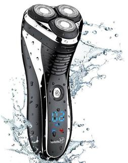 electric shaver rotary razor cordless beard trimmer