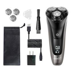 Hatteker Electric Shaver Rotary Shaver Razor Beard Trimmer S