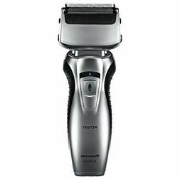 Panasonic ES-RW30-S, Dual-Blade Electric Razor Cordless Wet