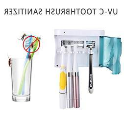 QiuKo Family Size UV Sanitizer, Electric Toothbrush Holders