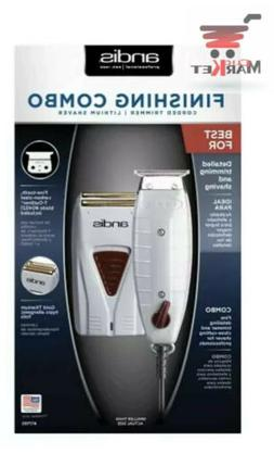 Finishing Combo Andis Corded #17195 Trimmer /lithoum Shaver