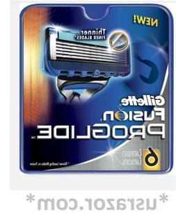 Gillette Fusion Proglide 6 Refill Cartridges