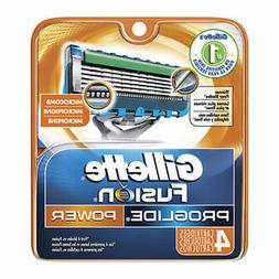 Gillette Fusion Proglide Power Men Razor Blade Refills 4 Cou