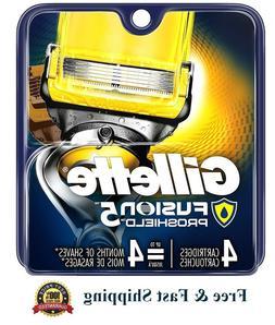 Gillette Fusion Proshield  4 Count Cartridges  Men's Razor 5